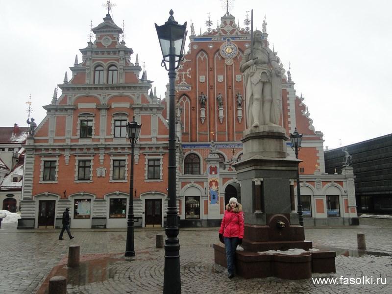 Дом купцов Черноголовых на Ратушной площади в Риге