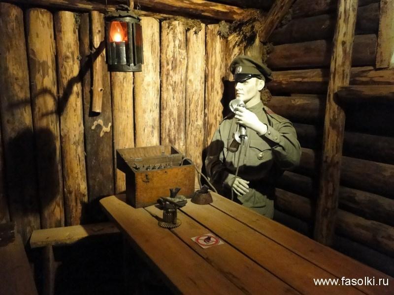 Экспонат Военного музея в Риге