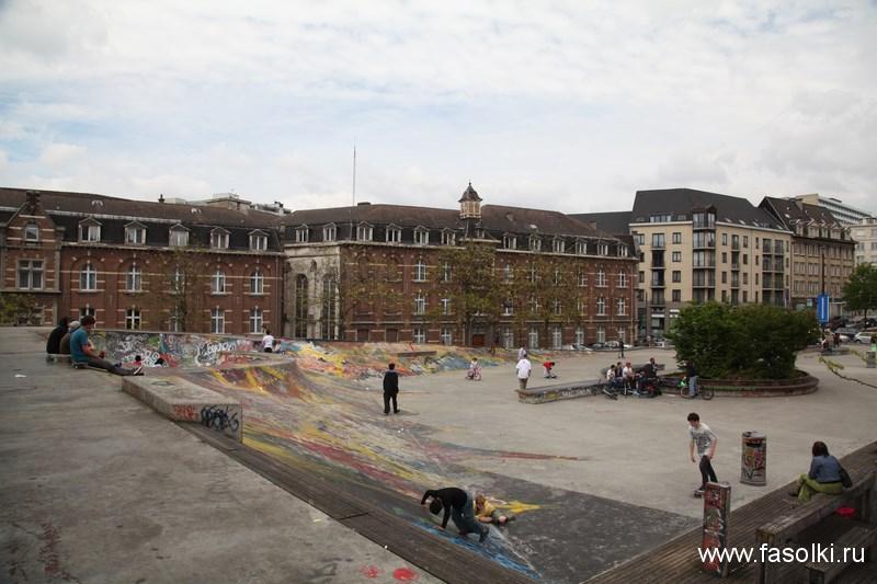 Брюссельский скейтодром