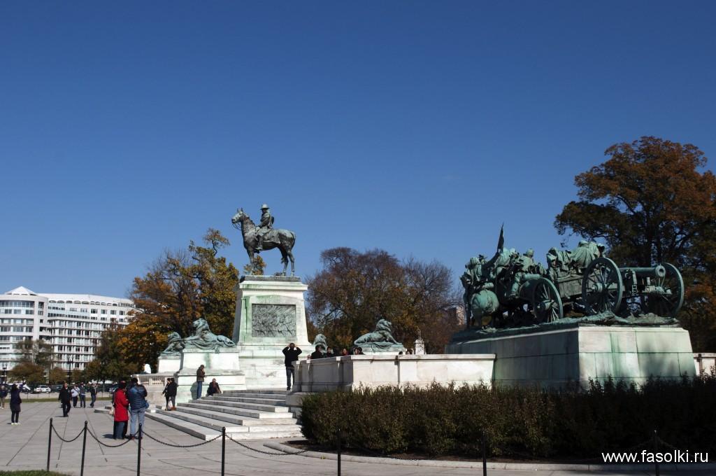 Статуя Улисса Гранта в Вашингтоне