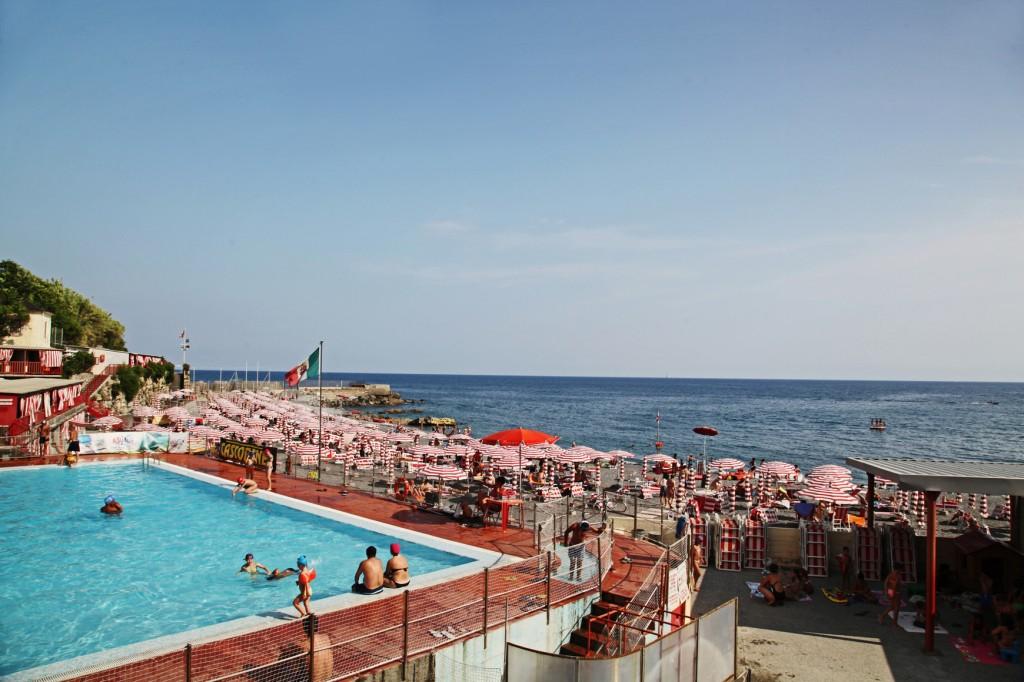 Пляж. Генуя