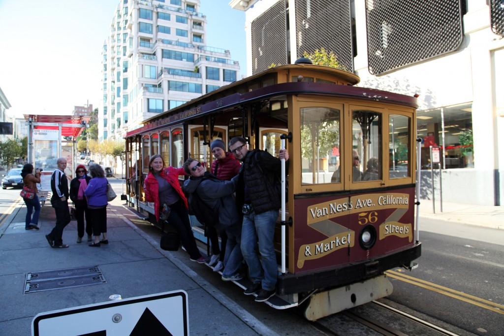 Канатный трамвайчик в Сан-Франциско
