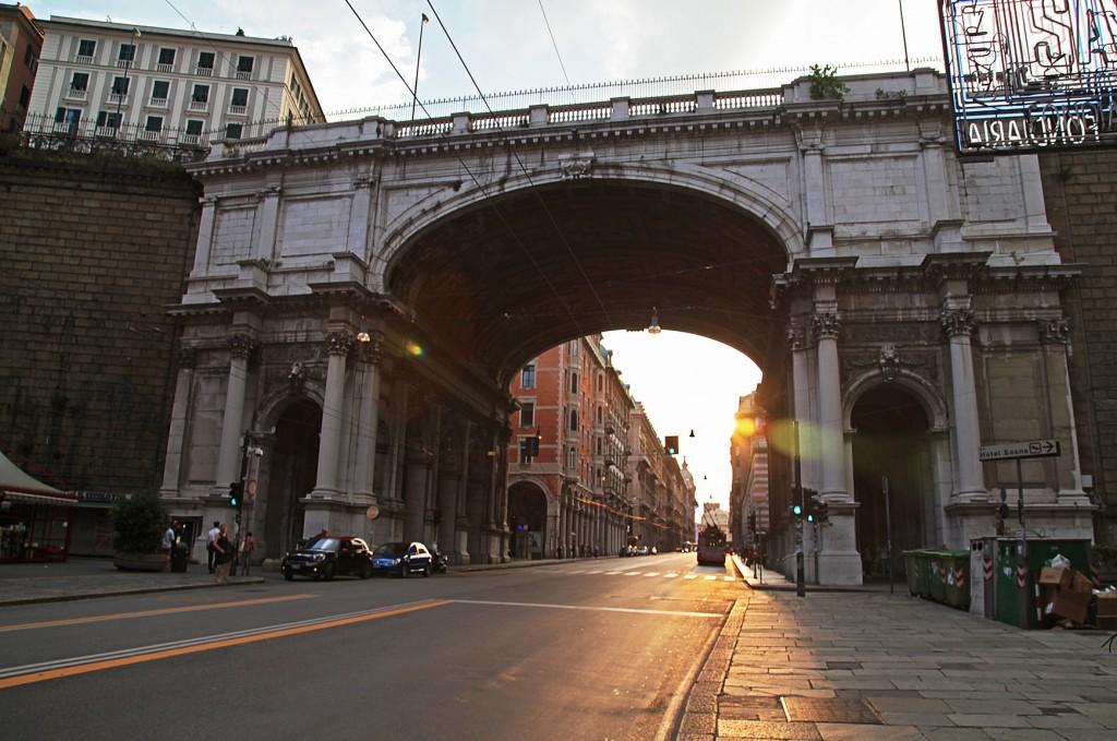 Монументальный мост, Генуя