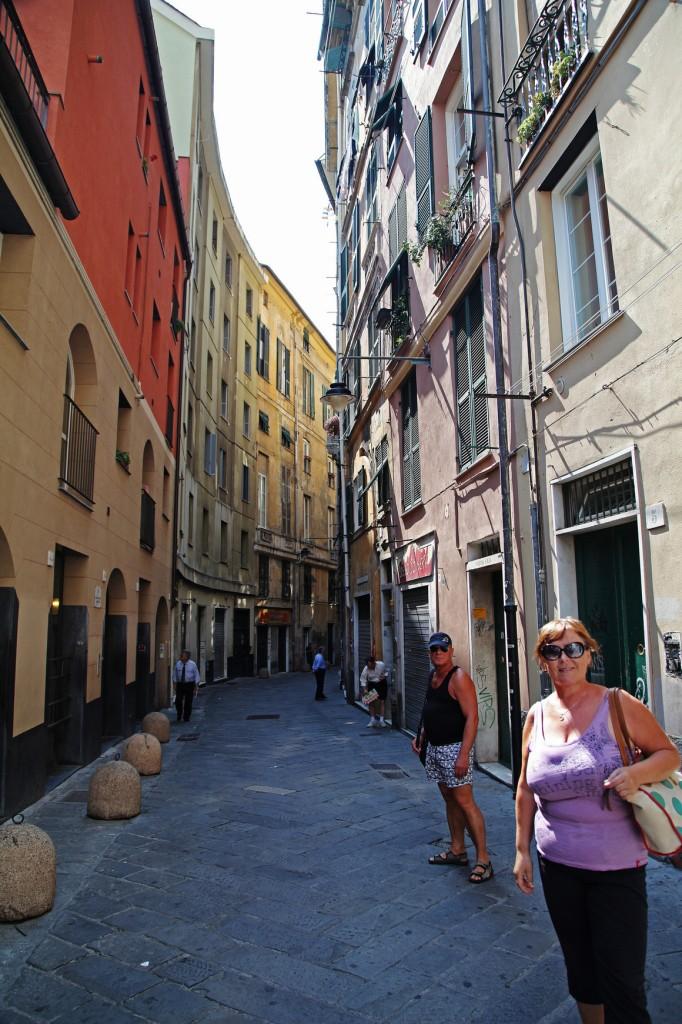 Генуя. Старый город