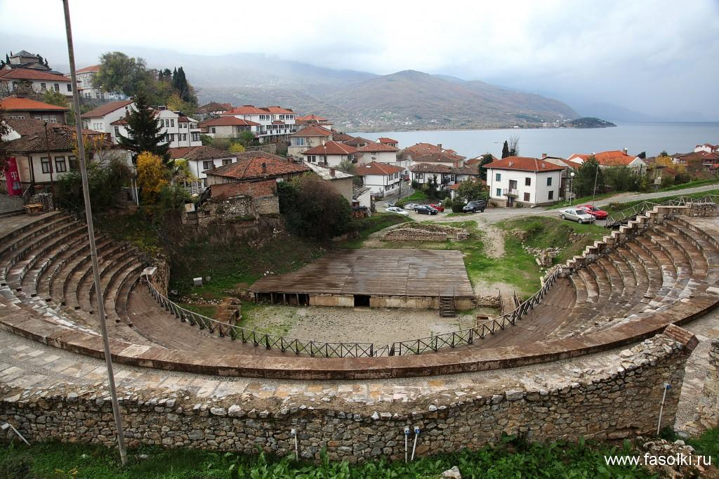 Римский амфитеатр в Охриде