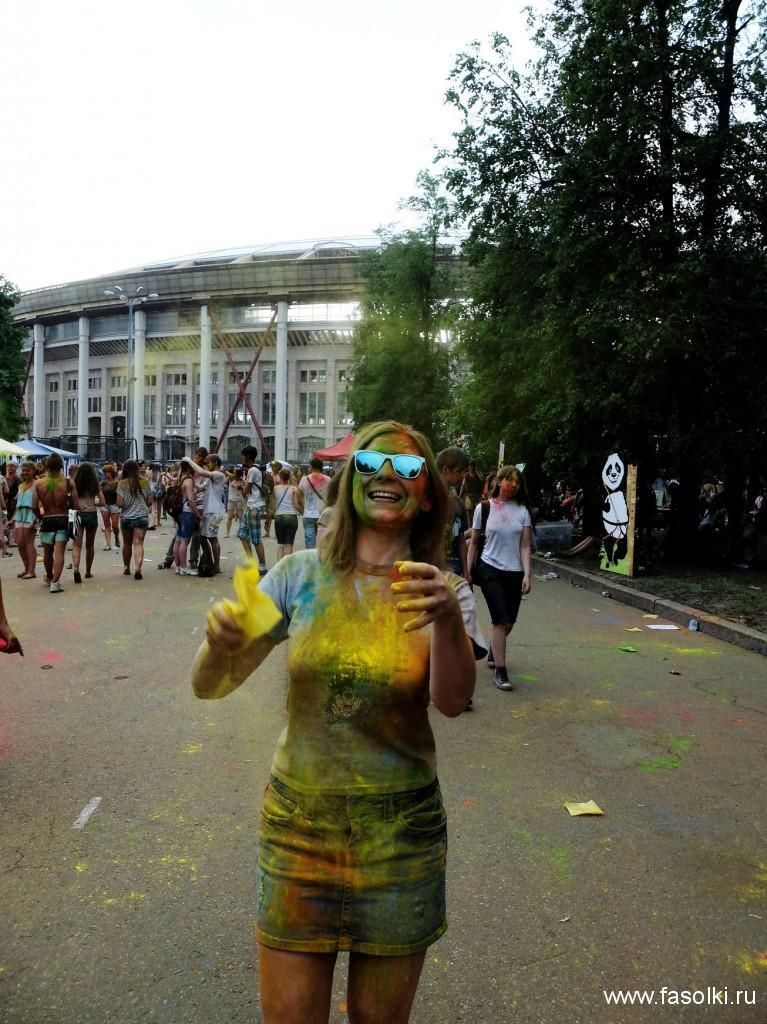 Праздник Холи-2014 в Москве