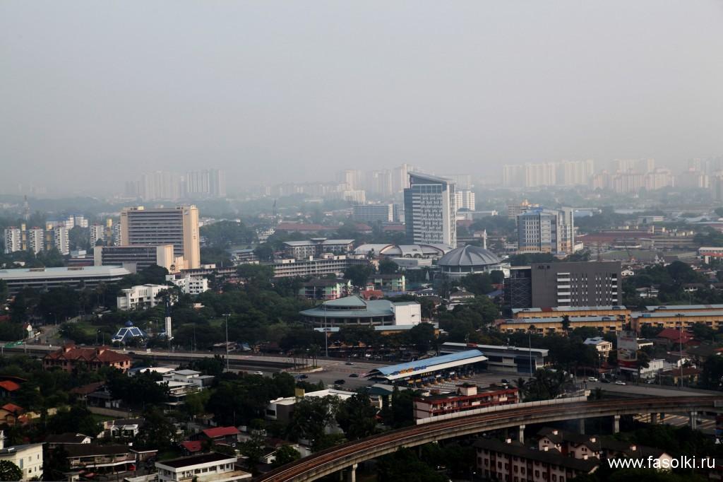 Куала-Лумпур днем