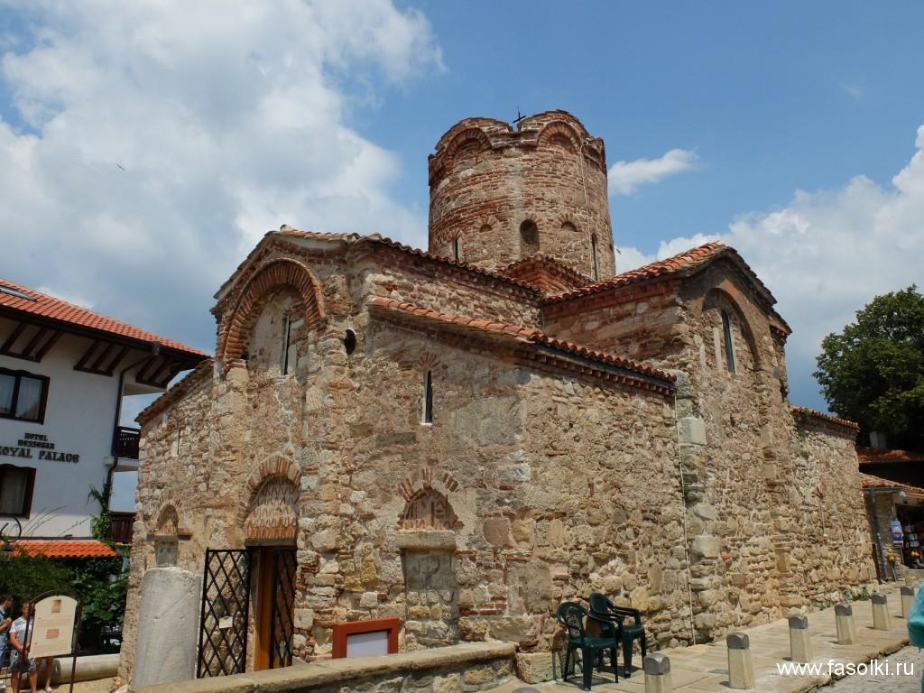 Церковь св. Иоанна Крестителя, X-XI вв. в Несебре