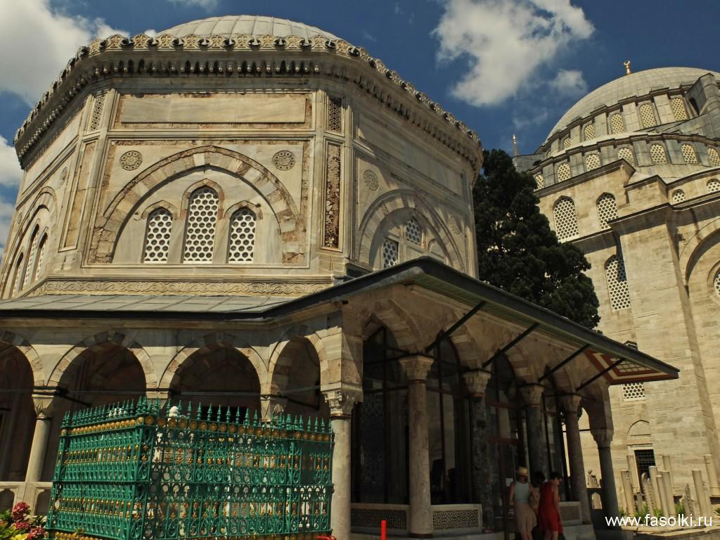 Мавзолеи султана Сулеймана и Роксоланы. Мечеть Сулеймание
