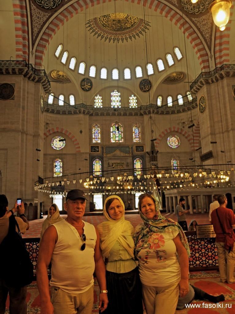Мечеть Сулеймание. Фото: Гала