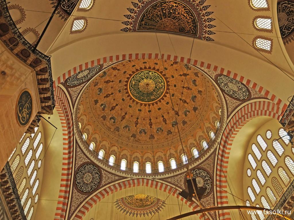 Купола мечети Сулеймание
