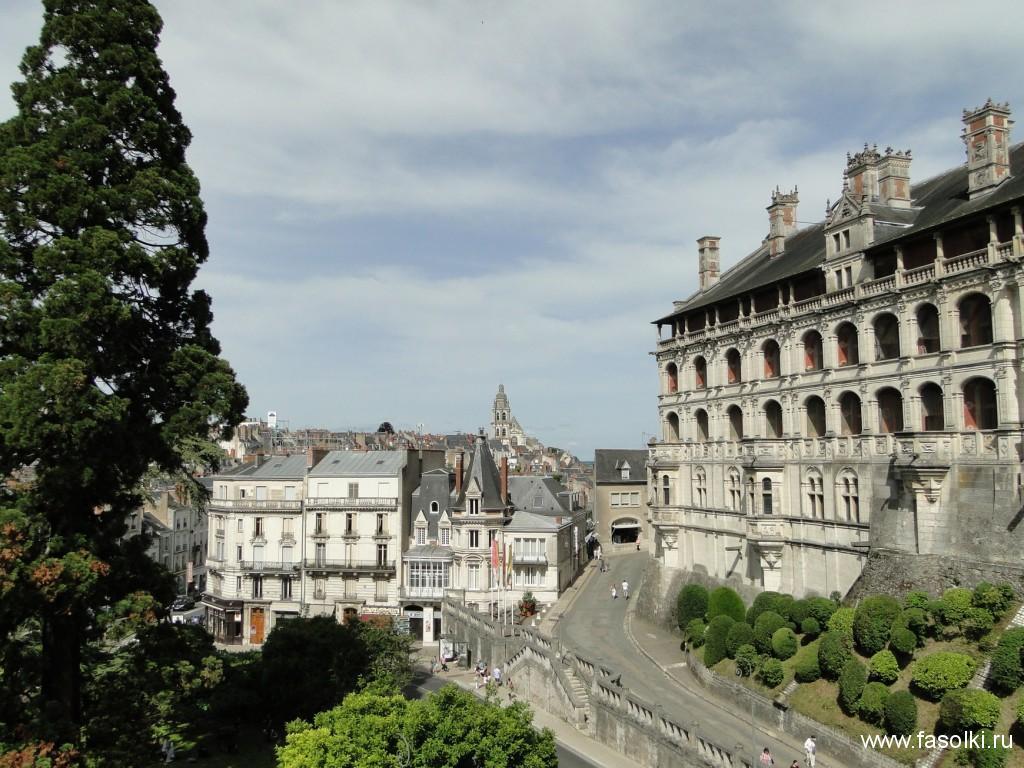 Франция, королевский замок Блуа