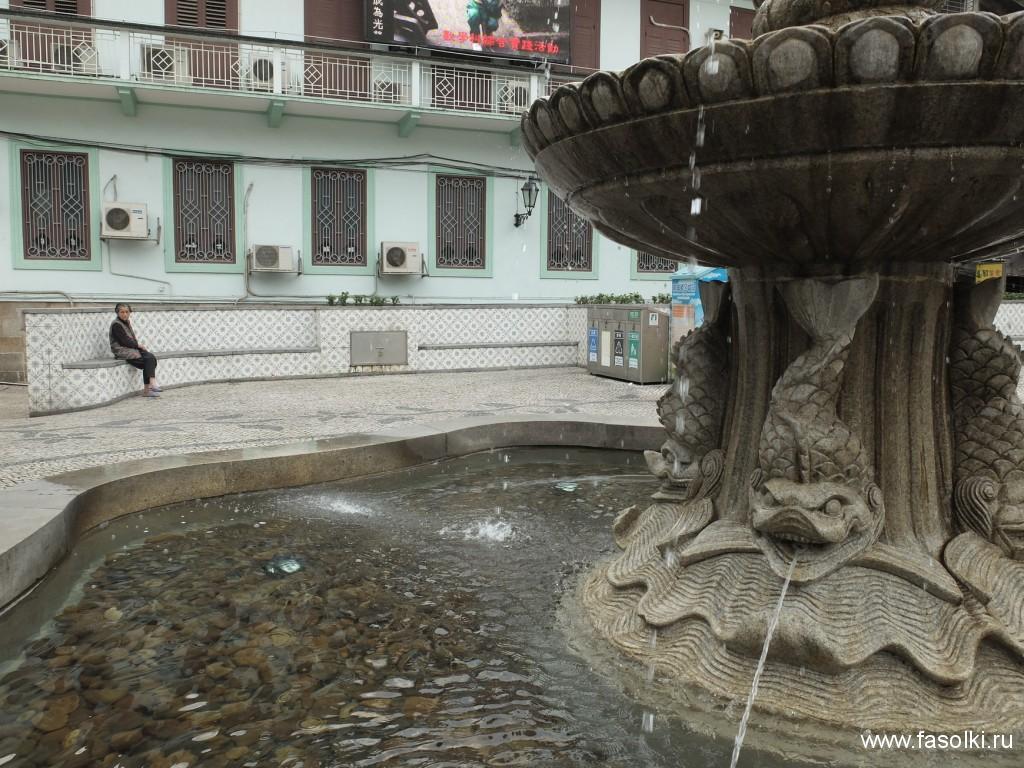 Площадь Кафедрального собора в Макао
