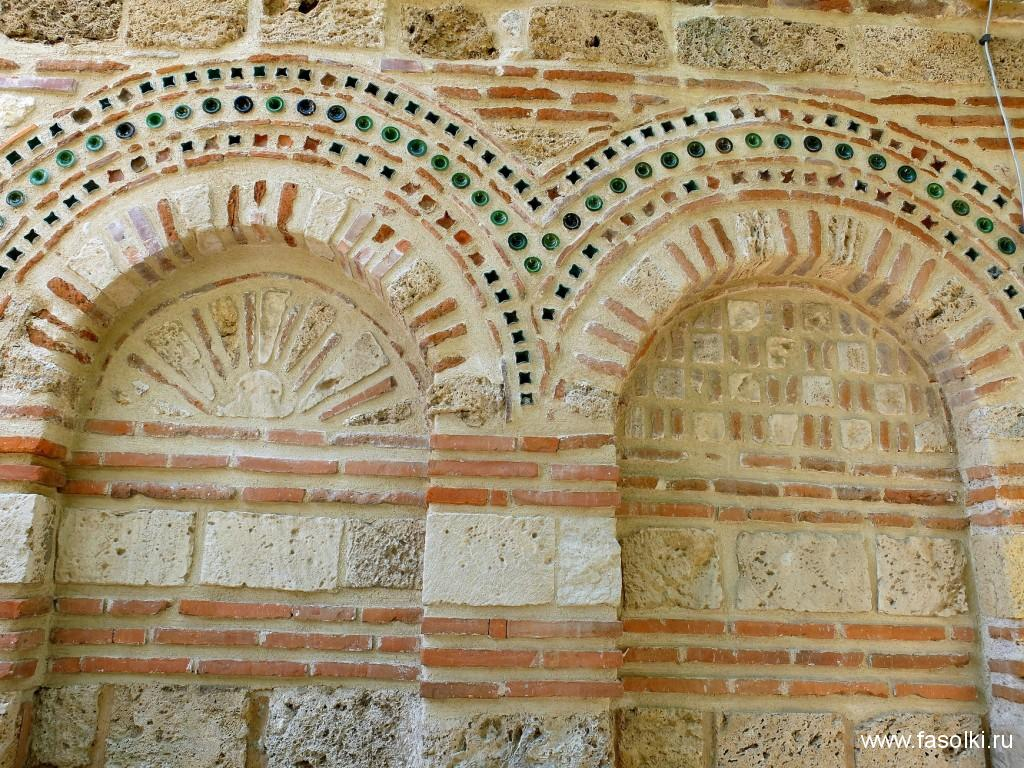 Кладка православной церкви в Несебре