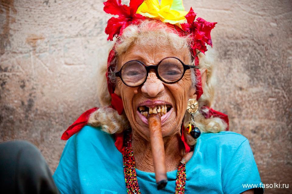 Кубинская бабушка. Фото: Интернет
