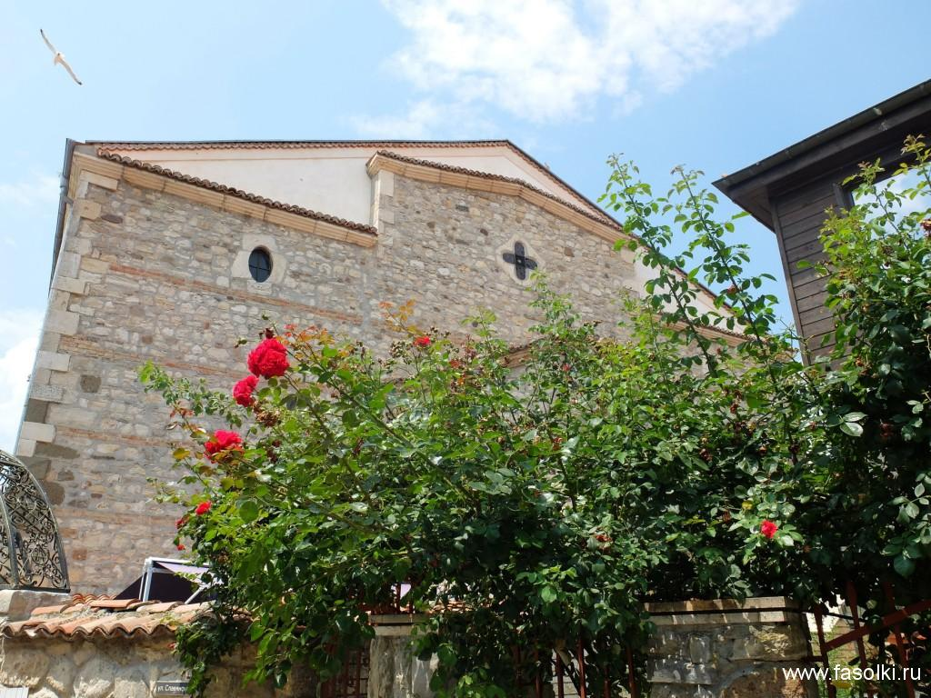 Церковь Пресвятой Богородицы в Несебре